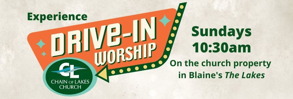 Drive-In worship web banner