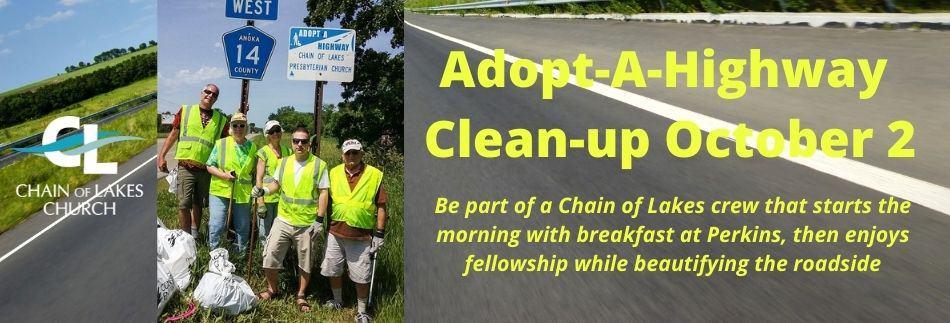 Highway Clean-up website banner